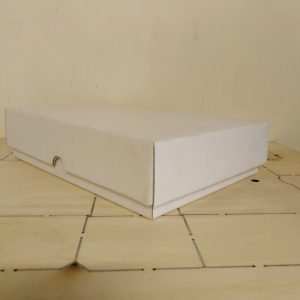 GIFT BOX WHITE  TF0046 (255 X 180 X 60 mm)
