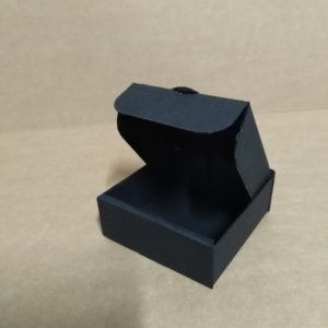 Gift Box Black TF0037  (75 X 75 X 25 mm)