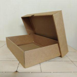 Gift Box Brown 255 x 180 x 60mm