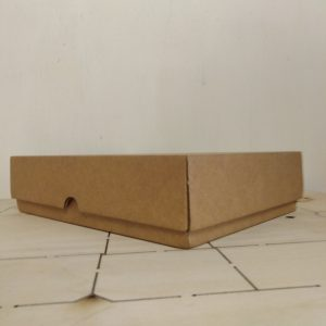 Gift Box Brown 255 x 180 x 60mm